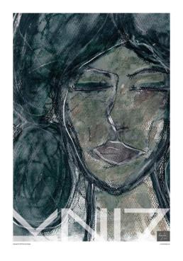Picture of a 70x100 art print A14 Dreamy by Vuorjoki Design