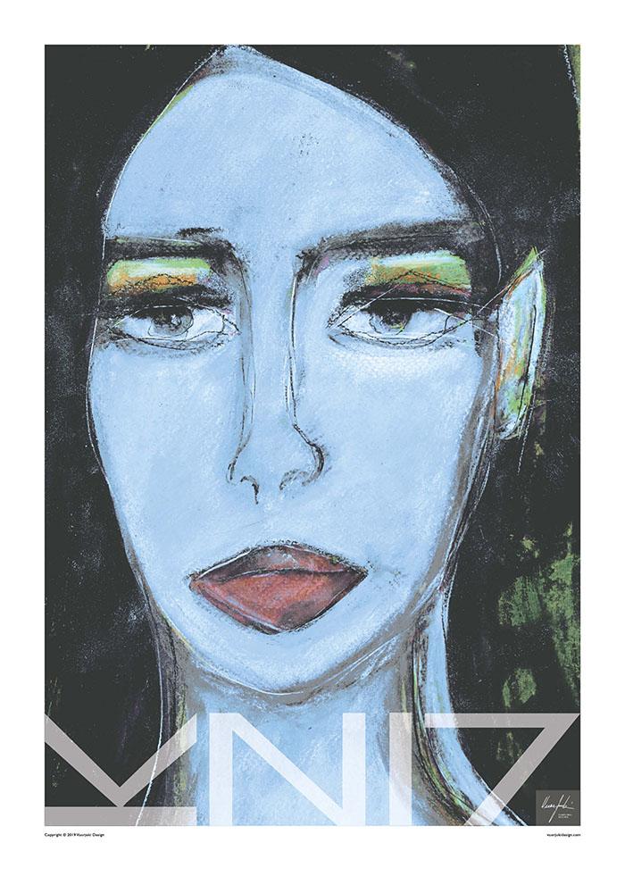 Picture of a 70x100 art print B10 Gatsby by Vuorjoki Design