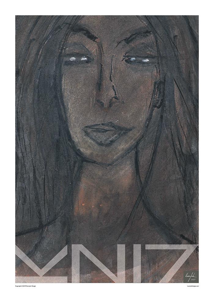 Picture of a 70x100 art print A29 Raw by Vuorjoki Design