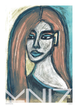 Picture of a 70x100 art print B43 Portrait by Vuorjoki Design